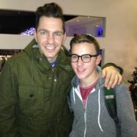 Edon with Andy Grammer in Toronto